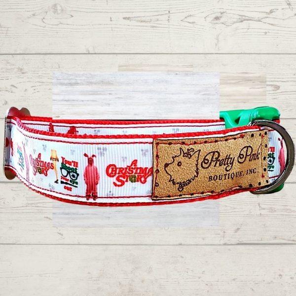 A Christmas Story Dog Collar