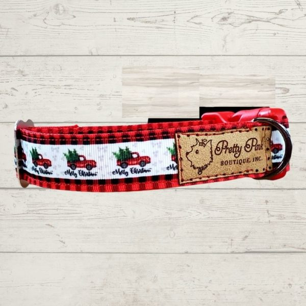 Little Red Truck Christmas Collar