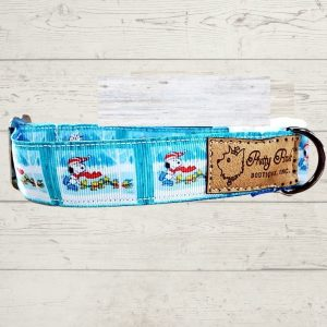 Snoopy on Ice Dog Collar
