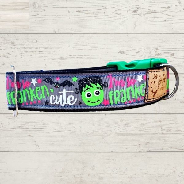 Franken Cute Dog Collar