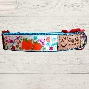 Pumpkin Patch Princess Dog Collar