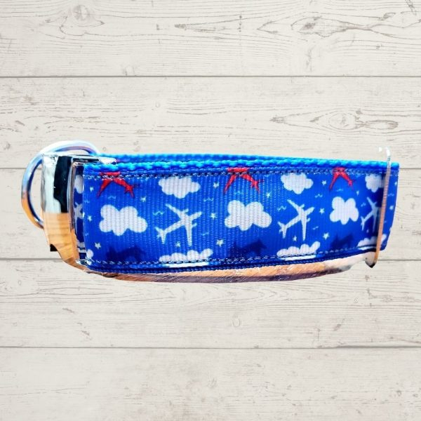 Airplanes Dog Collar